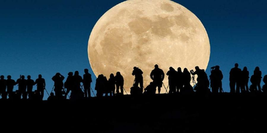 The brightest supermoon in almost 70 years rises tonight