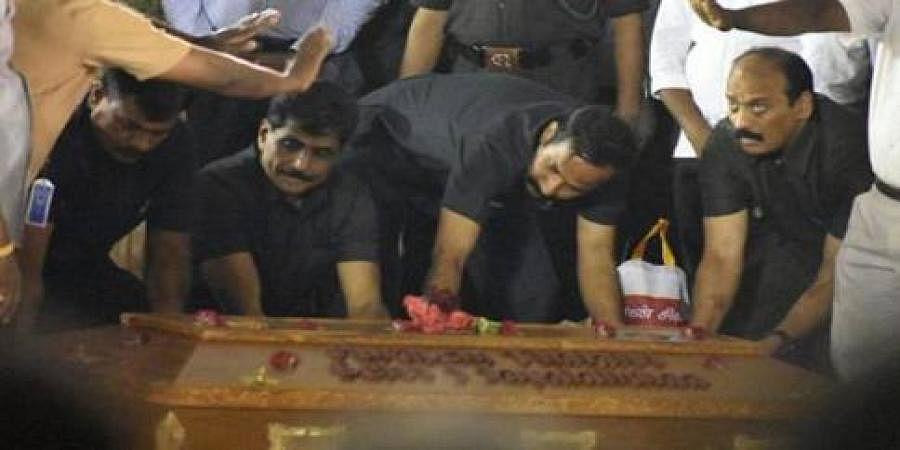 Tamil Nadu chief minister Jayalalithaa laid to rest