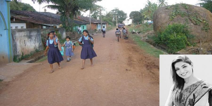 Doctor adopts a village, brings e-shala and lights