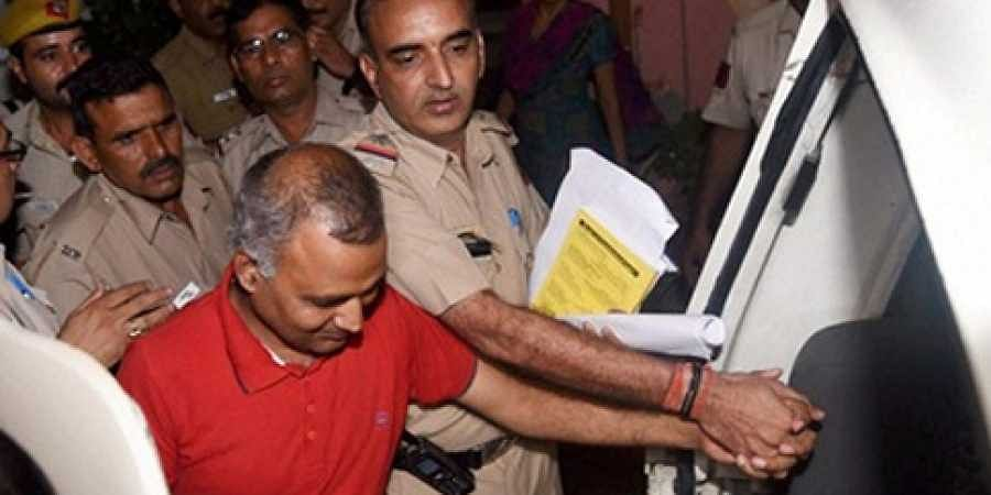 AAP MLA Somnath Bharti arrested by Delhi Police for assaulting AIIMS security guards