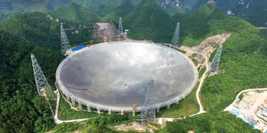 Search For Alien life Begins As World's Largest Radio Telescope Starts Operating in china