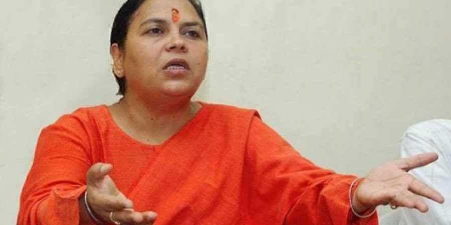 Cong 'benefited' from Mahatma Gandhi's assassination: Uma Bharti