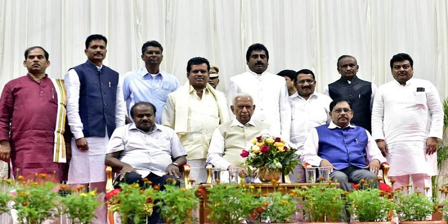 Karnataka cabinet rejig: Eight ministers sworn in at Rajbhavan