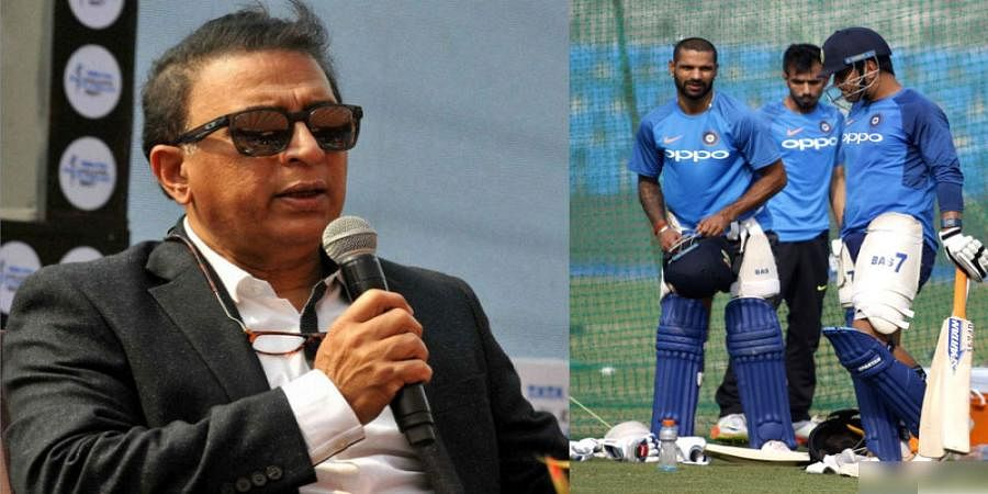 Sunil Gavaskar questions BCCI over Dhoni, Dhawan absence from Ranji Trophy