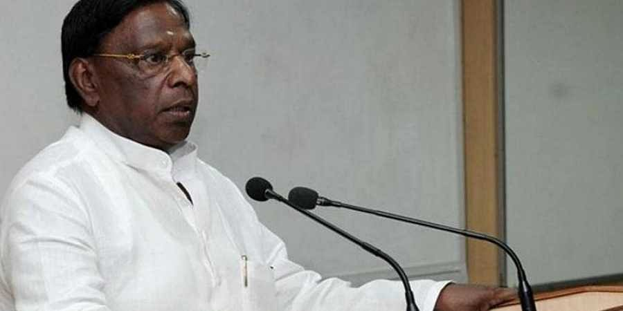 Puducherry CM V Narayanasamy