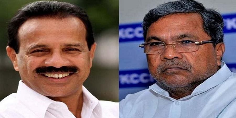 Siddaramaiah And Union Minister Sadananda Gowda