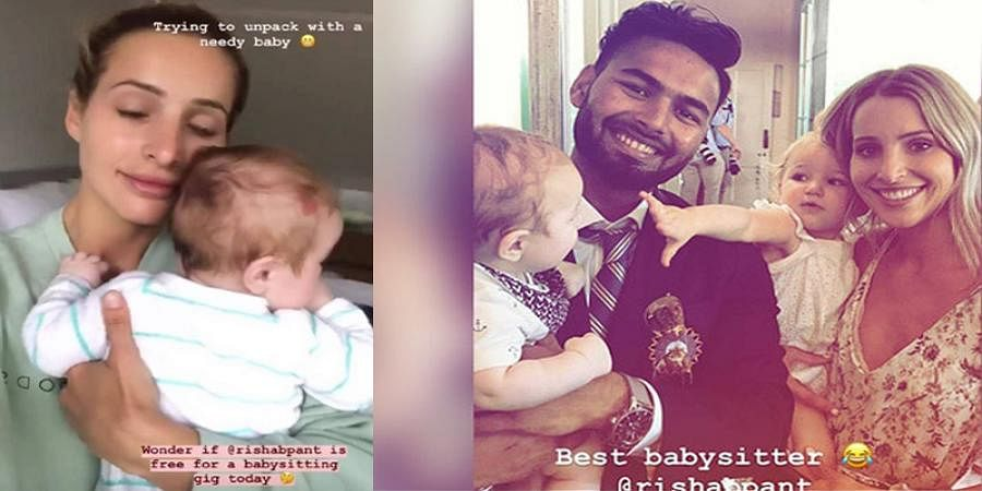 Ausis Skipper Tim Paine's wife asks for Rishabh Pant's availability to babysit her kids