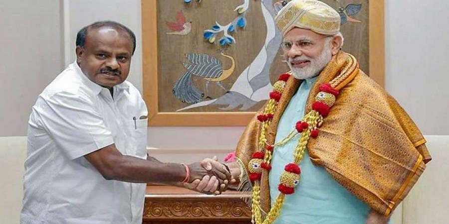 PM Modi reacting to statement I never made, says Karnataka CM Kumaraswamy on 'clerk' comment