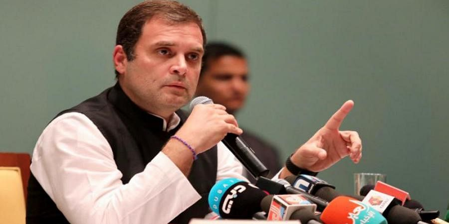PM Modi covering up Rafale scam, fear making him corrupt: Rahul Gandhi on Centre offering Justice Sikri CSAT post