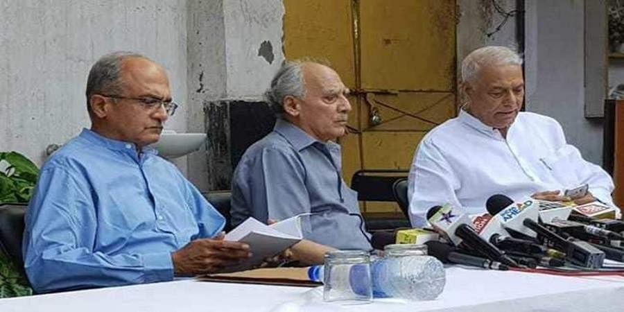 Yashwant Sinha, Arun Shourie