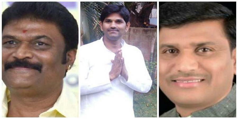 Anand Singh, Ganesh And Bheema Naik