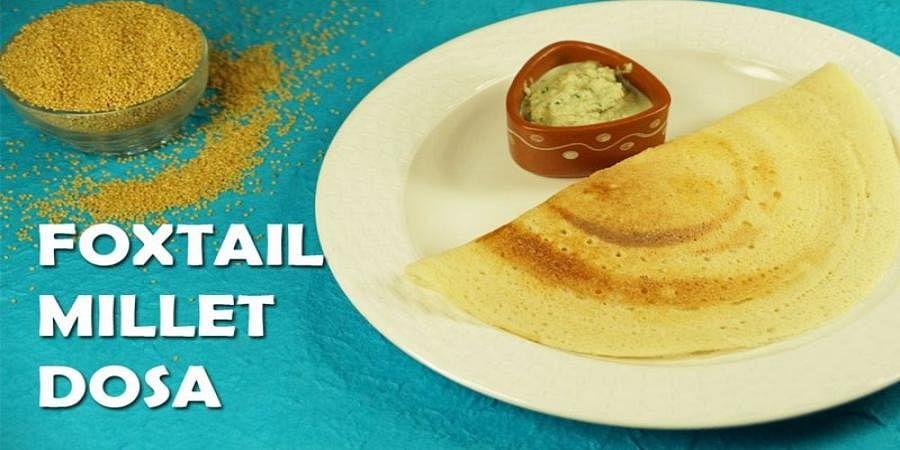 Foxtail millet dosa( File image)