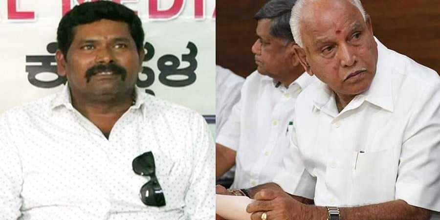 Congress MLA Shivaraj tangadagi Critisizes CM BS Yeddyurappa