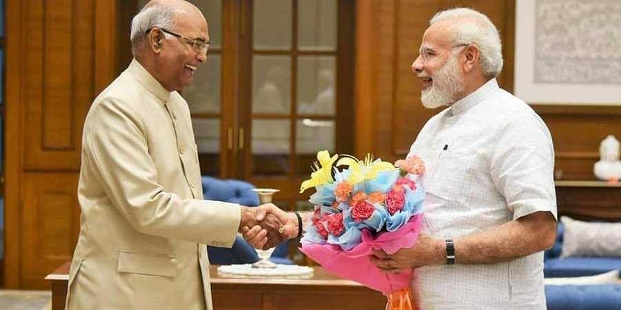 PM Modi greets President Kovind