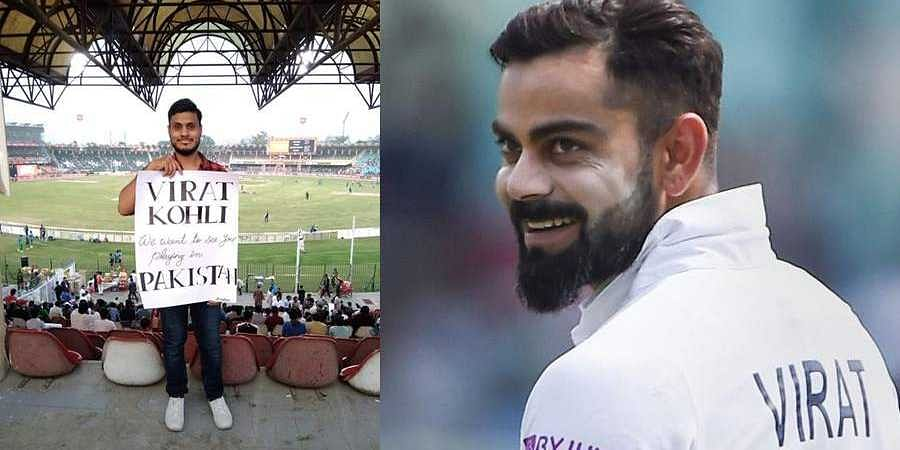 Kohli Fan Urges Him To Play In Pakistan
