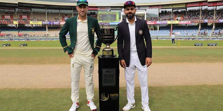 India won the toss and opt to bat against South Africa