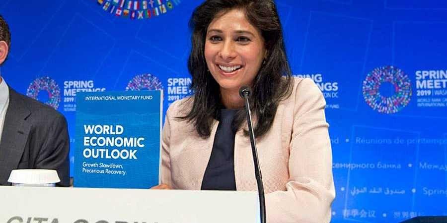 IMF's Chief Economist Gita Gopinath