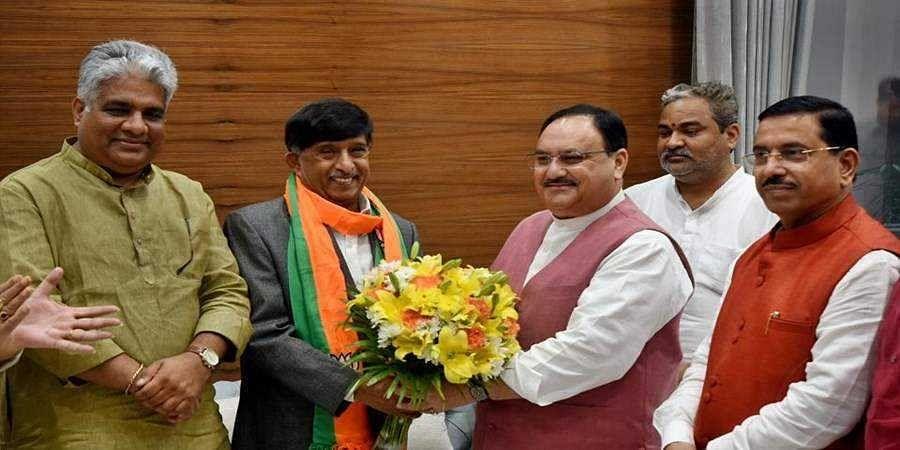 Former congress MP, KC Ramamurthy joins BJP