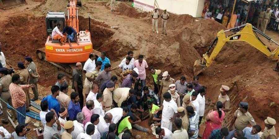 Rescue operations are in full flow to rescue Sujith alive.