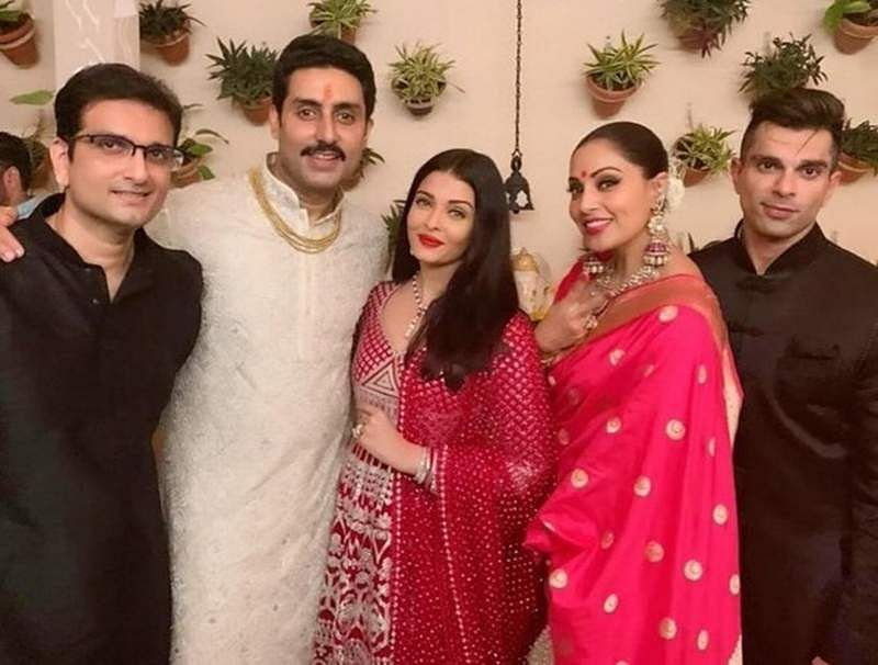 Abhishek Bachchan family and Bipasha basu family