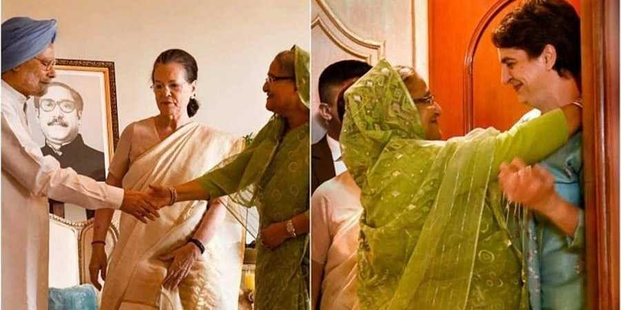Sheikh Hasina,Congressleaders