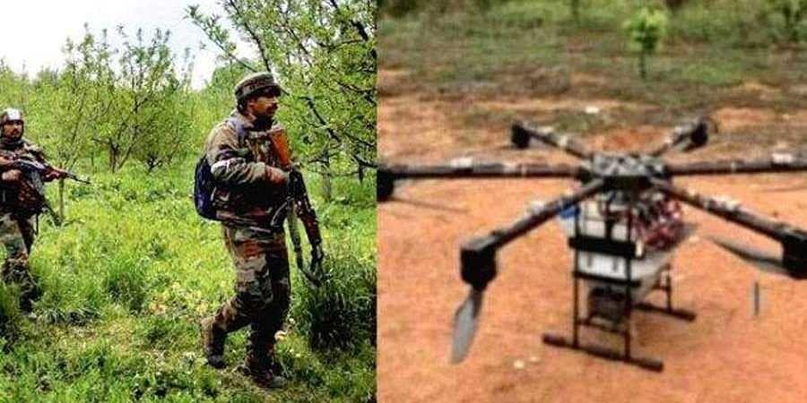 two Pakistani drones seen entering Punjab