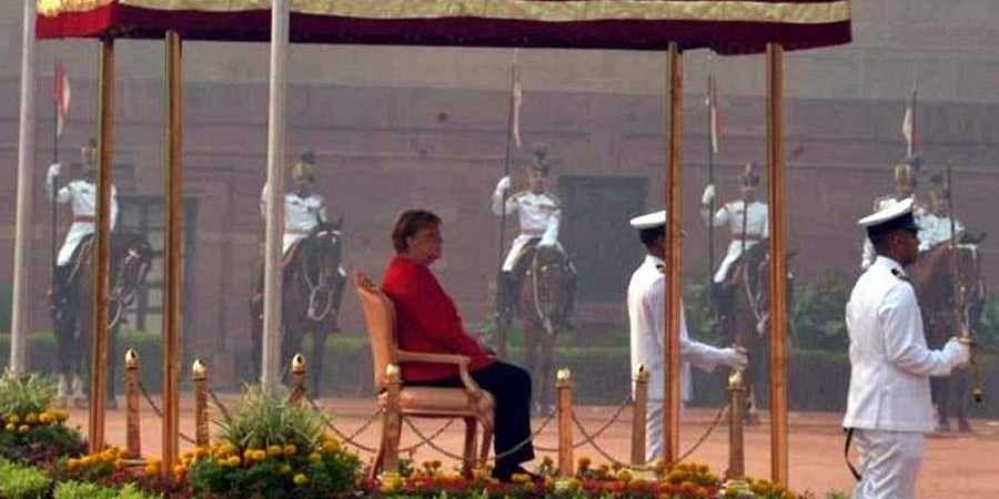 Angela Merkel-India