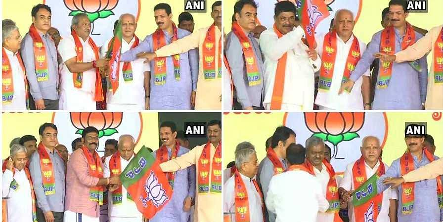Disqualified MLA joined BJP