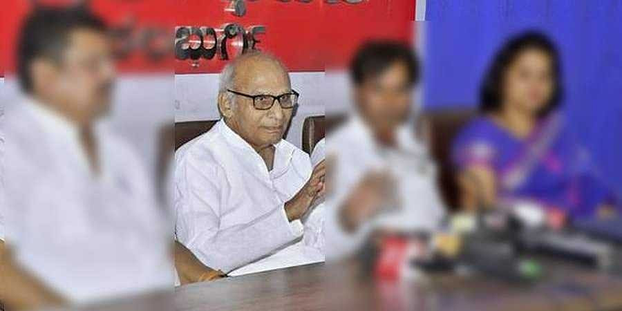 former minister vaijanath patil is no more