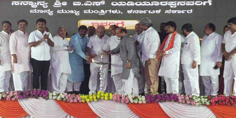 CM Yeddyurappa announces more grants to Hirekeruru constituency