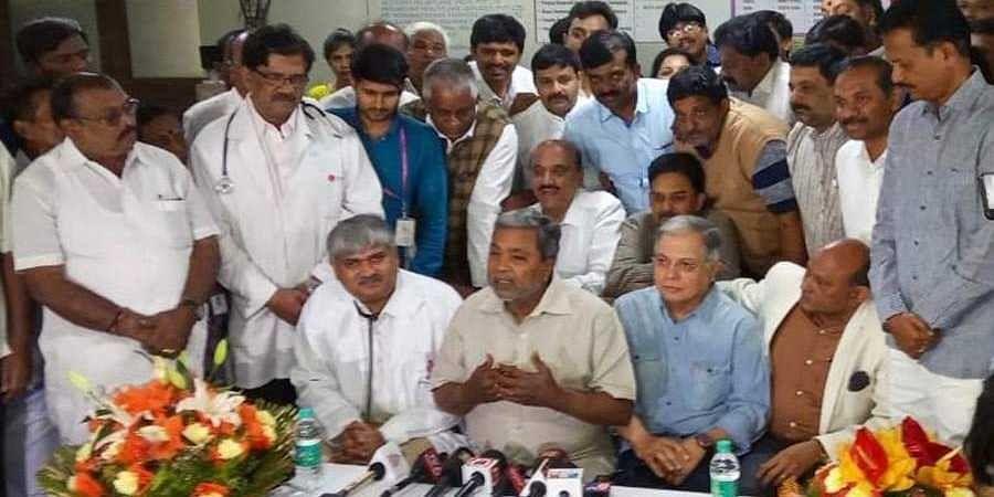 Siddaramaiah in press meet
