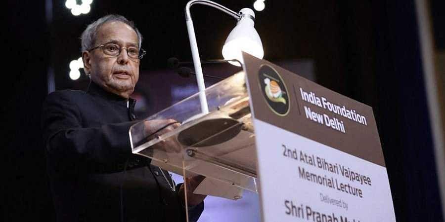 Ex president Pranab Mukherjee