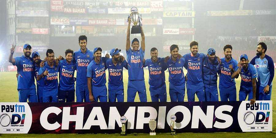series win against West indies for Team India
