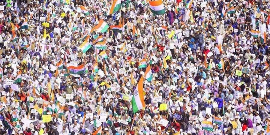 2 lakh people converge to protest against Citizenship Act in Bengaluru