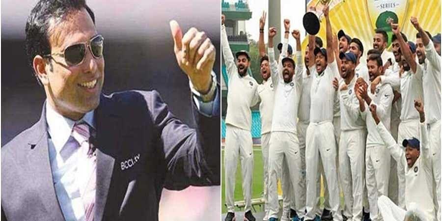 VVS Laxman-Team India