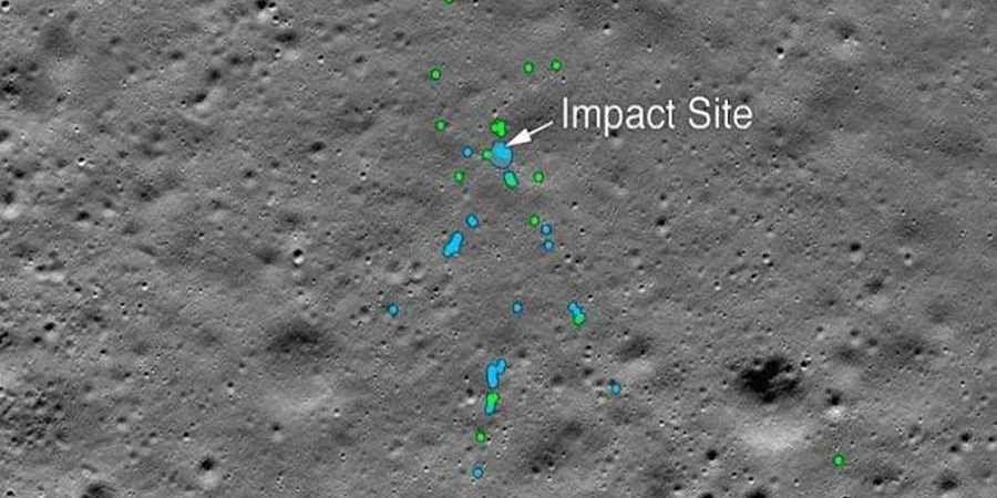 NASA finds Vikram Lander, tweets images of impact site on moon surface