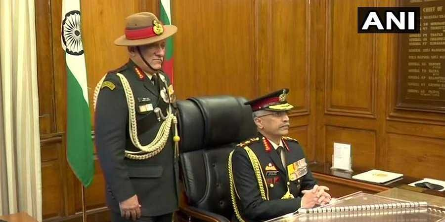 General Manoj Naravane takes charge as 28th chief of Indian Army
