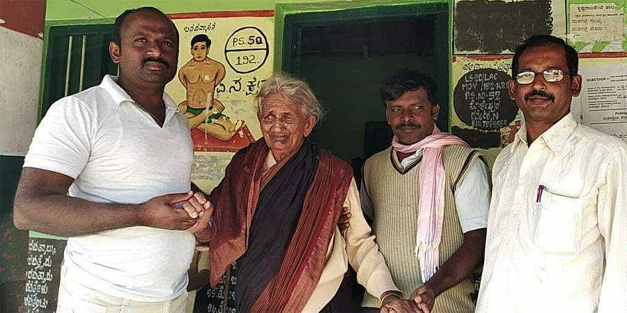 106 year Old Gand Mother Votes