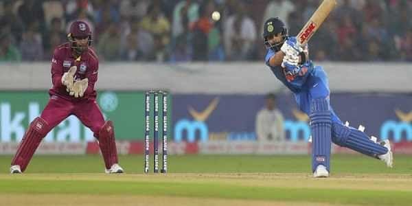 ಮೊದಲ ಟಿ20: ಕೊಹ್ಲಿ, ರಾಹುಲ್ ಅಮೋಘ ಬ್ಯಾಟಿಂಗ್ ವಿಂಡೀಸ್ ವಿರುದ್ಧ ಭಾರತಕ್ಕೆ 6 ವಿಕೆಟ್ ಗೆಲುವು
