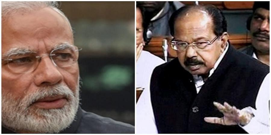 Modi, VeerappaMoily