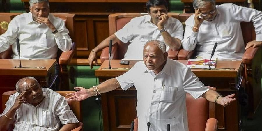 BSY Audio clip row: BJP opposes SIT, Demands for Judicial probe