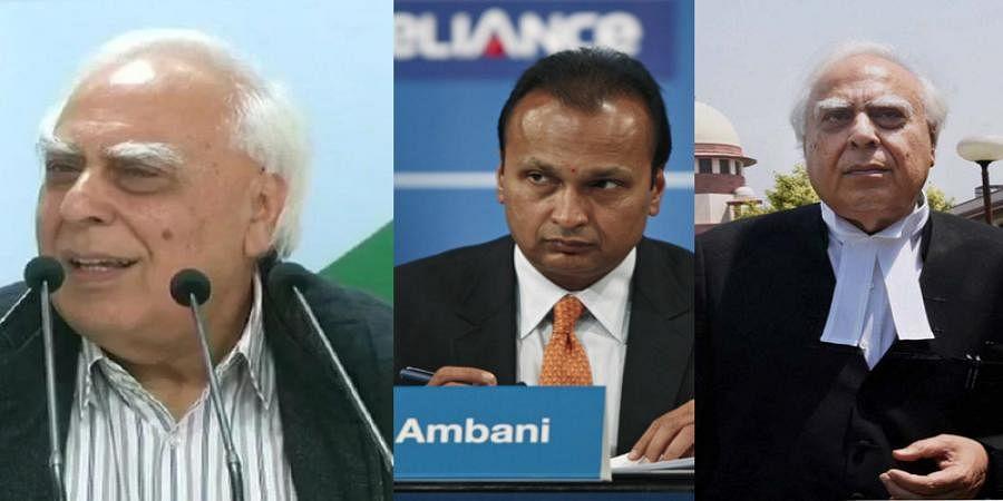 Congress Leader Kapil Sibal defends Anil Ambani in court, attacks him outside