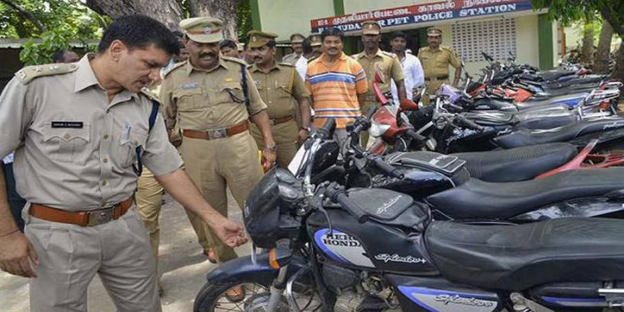 30000 motorcyclists booked for not wearing helmets in Puducherry
