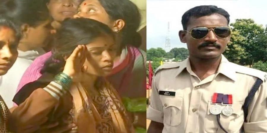 Martyr soldier Guru and wife Kalavati