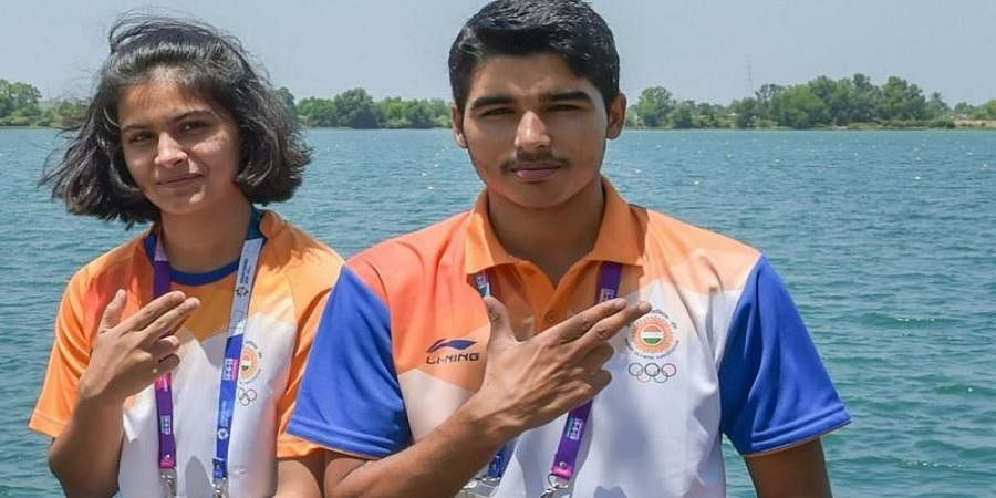 ISSF World Cup: Manu Bhaker, Saurabh Chaudhary win gold in 10m Air Pistol Mixed Team