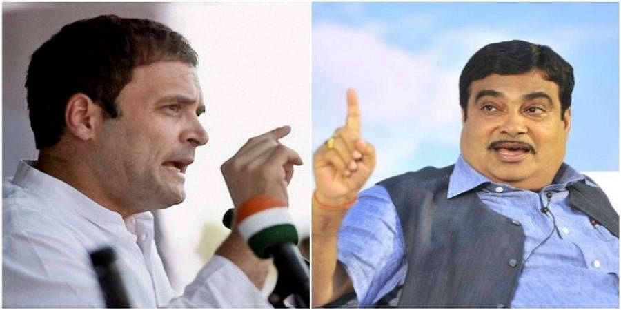 'Don't need your certificate': Gadkari pans Rahul, prompts 'huge apology'