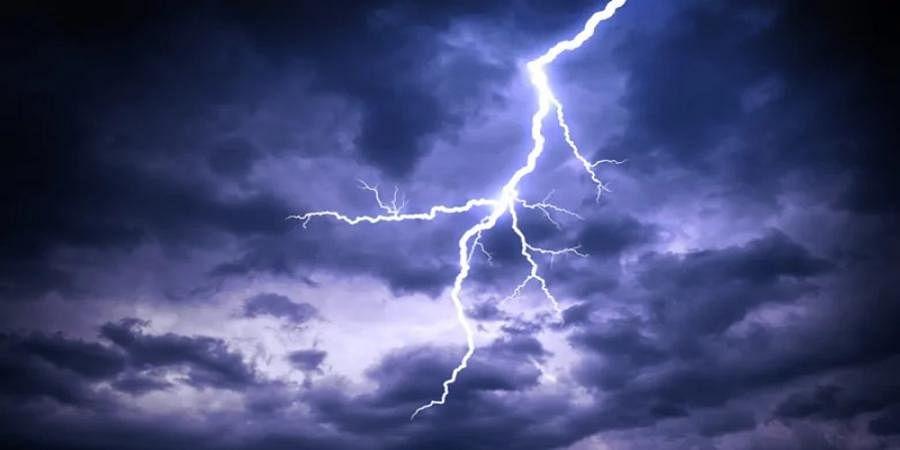 Heavy rain in Kukke Subrahmanya