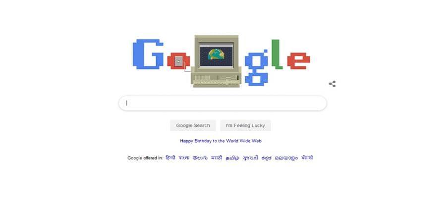Google Doodle celebrates 30 years of World Wide Web
