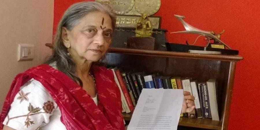 A tribute to senior actress LV Sharada