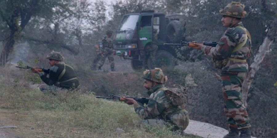 Three terrorists eliminated by security forces in Hajin, Bandipora